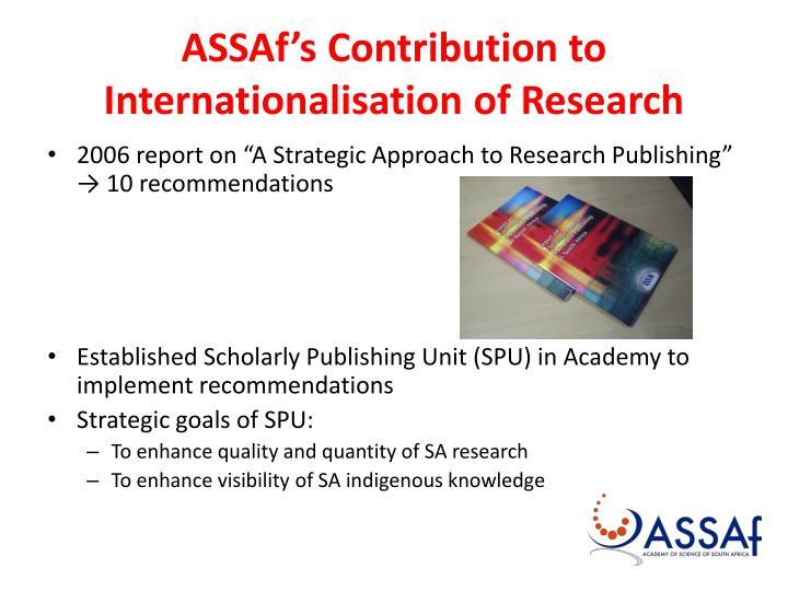 ASSAf's