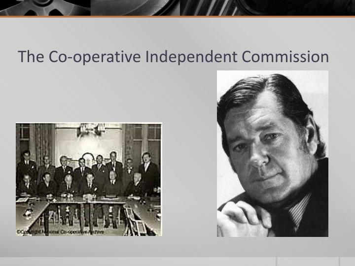The Co-operative Independent Commission