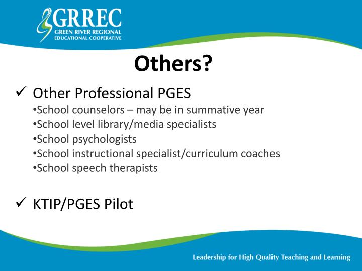 Other Professional PGES
