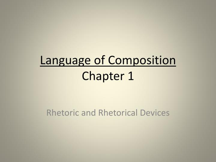 chapter 1 composition On archive of our own (ao3), users can make profiles, create works and other  content, post comments, give kudos, create collections and.