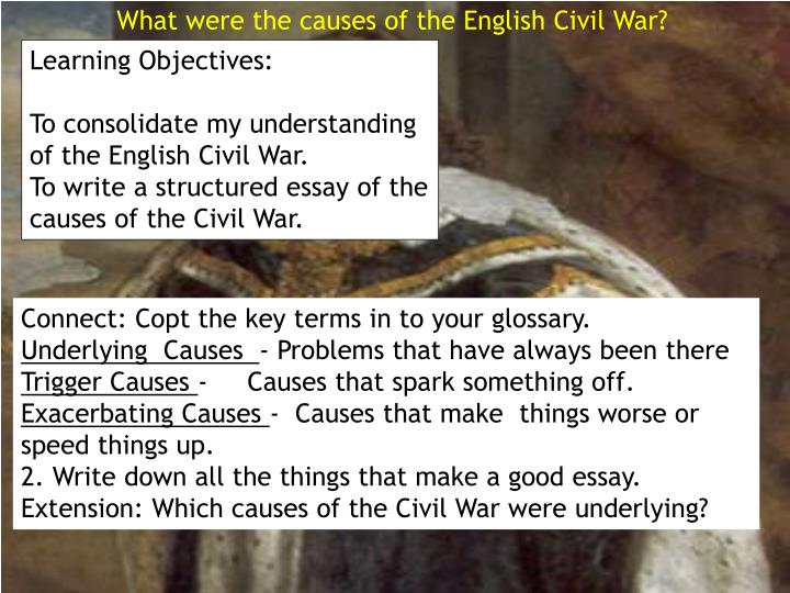 Definition Essay On Civil War