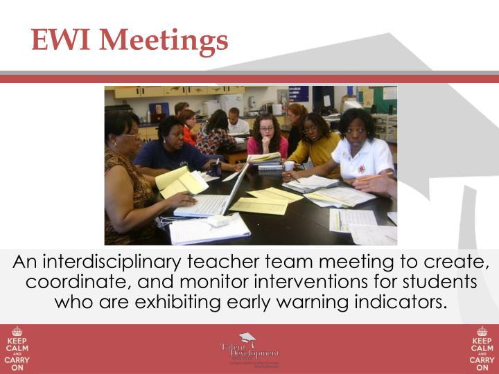 EWI Meetings