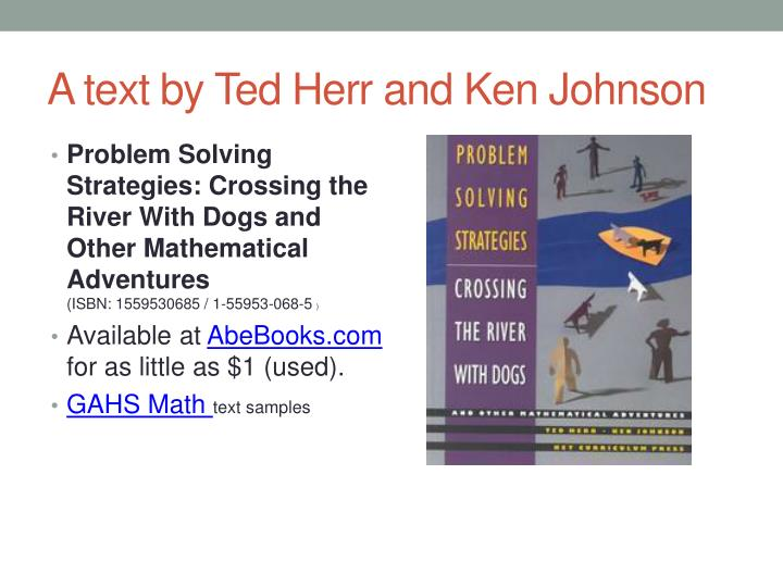 A text by Ted Herr and Ken Johnson