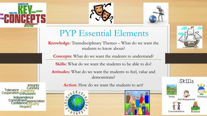 PYP Essential Elements