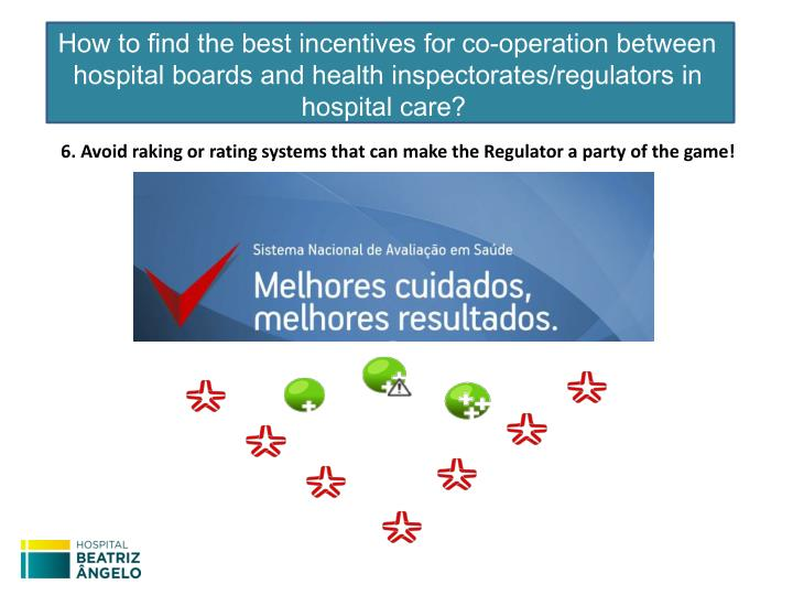 How to find the best incentives for co-operation between