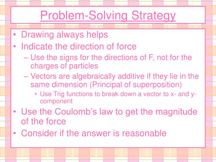 Problem-Solving Strategy