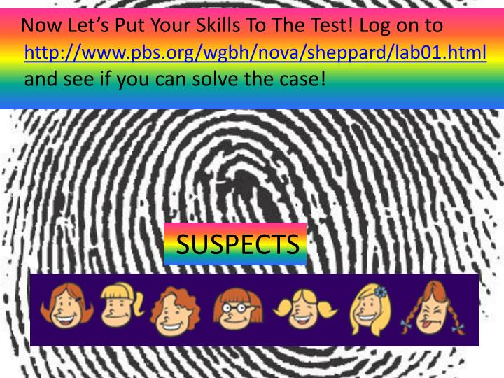 Now Let's Put Your Skills To The Test! Log on to