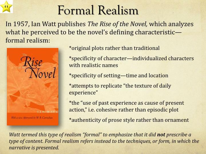 Formal Realism
