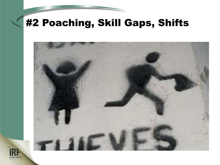 #2 Poaching, Skill Gaps, Shifts