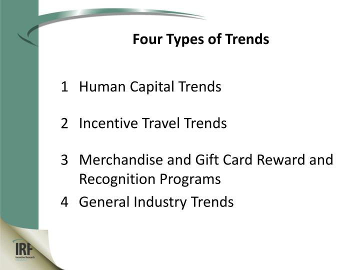Four Types of Trends