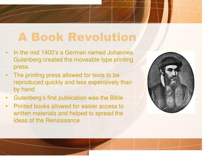 A Book Revolution