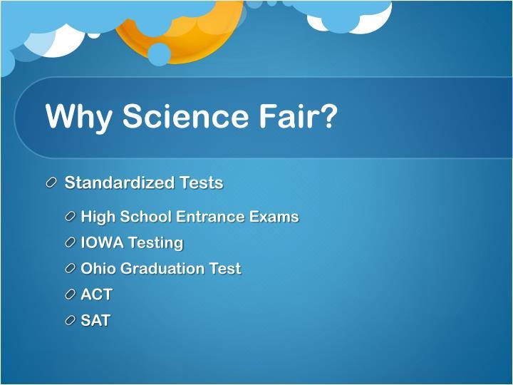 Why Science Fair?