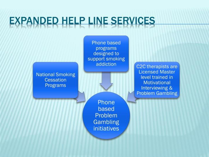 Expanded Help Line Services