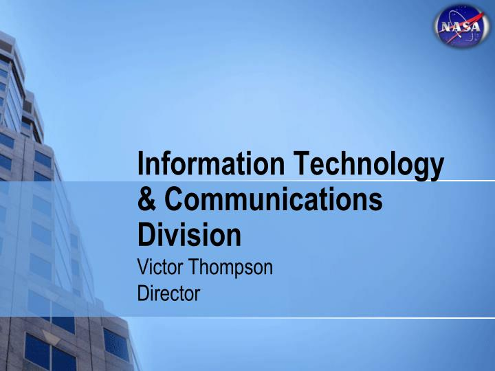 Information Technology & Communications Division