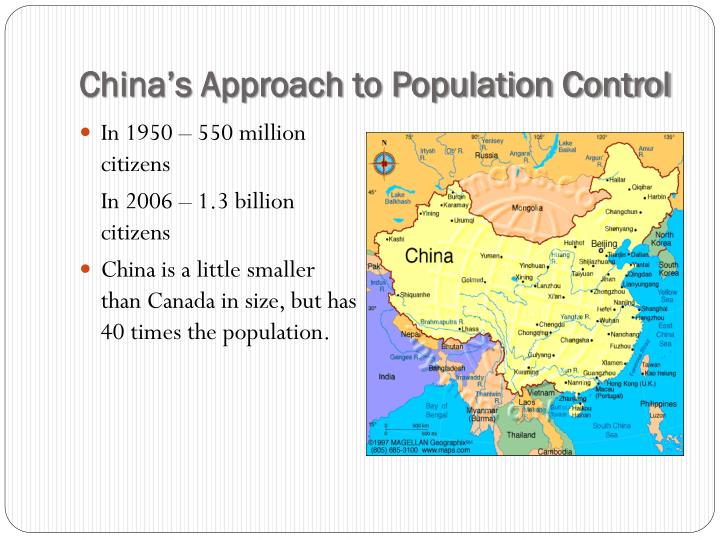 China's Approach to Population Control