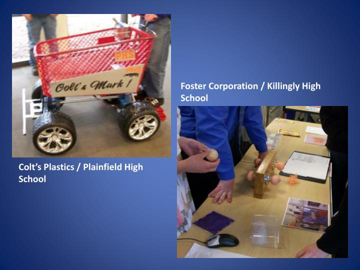 Foster Corporation / Killingly High School