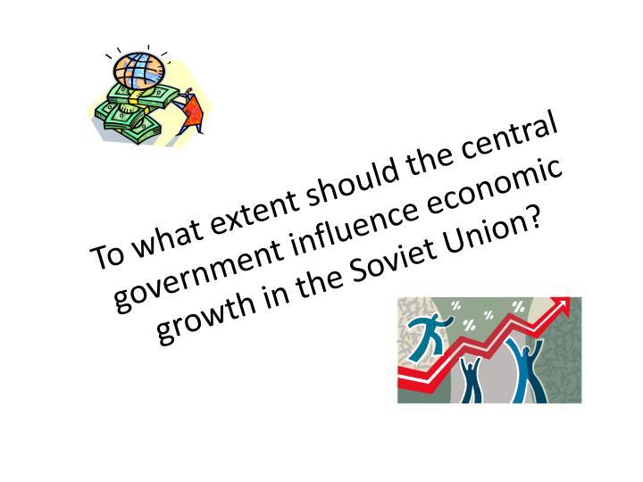 Should the government intervene in the economy?