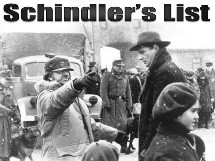 Schindler's List Reaction Paper