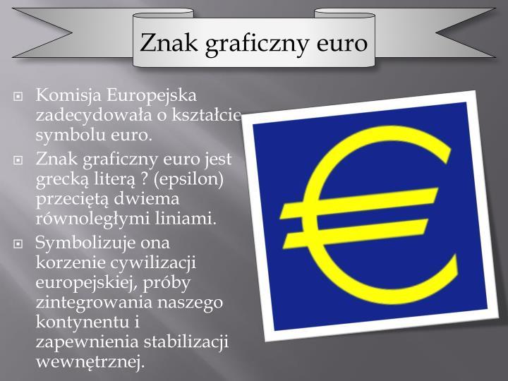 Znak graficzny euro