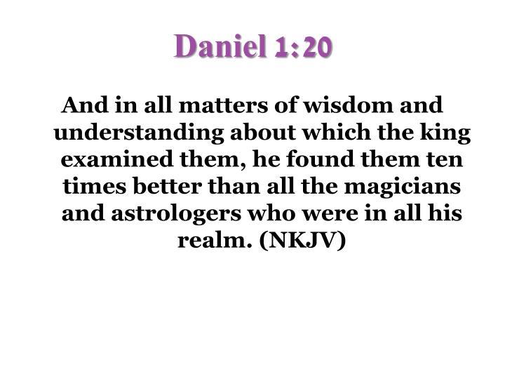 Daniel 1:20