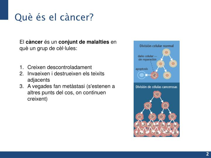 Què és el càncer?