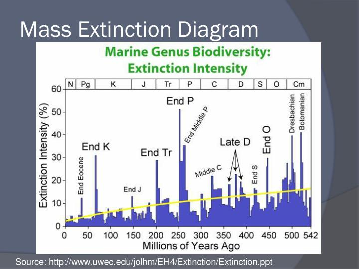 Mass Extinction Diagram