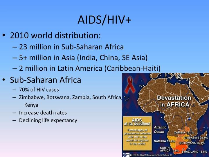 AIDS/HIV+