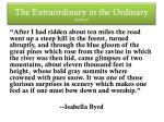 the extraordinary in the ordinary quote 6