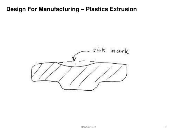 Design For Manufacturing – Plastics Extrusion