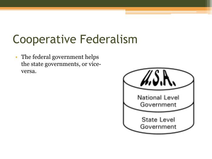 Cooperative Federalis