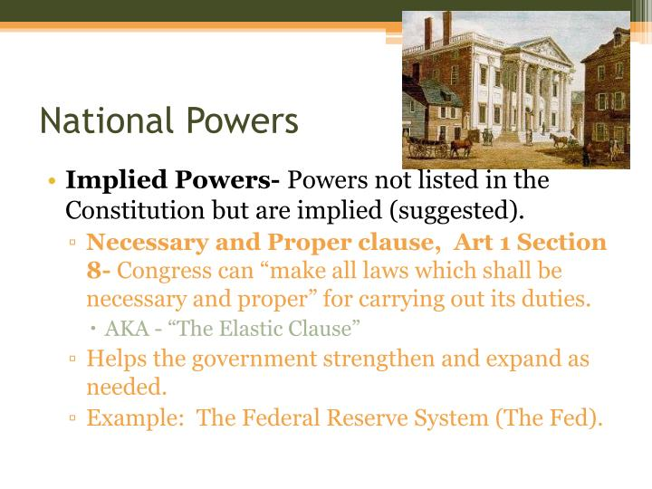 National Powers