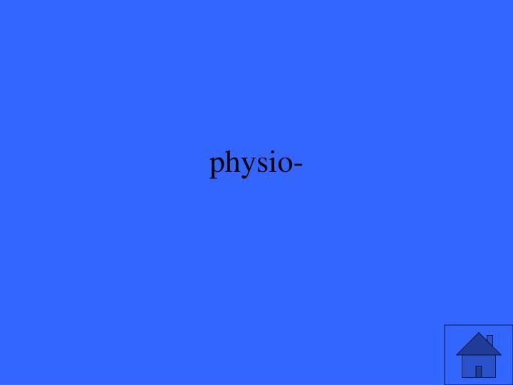 physio-