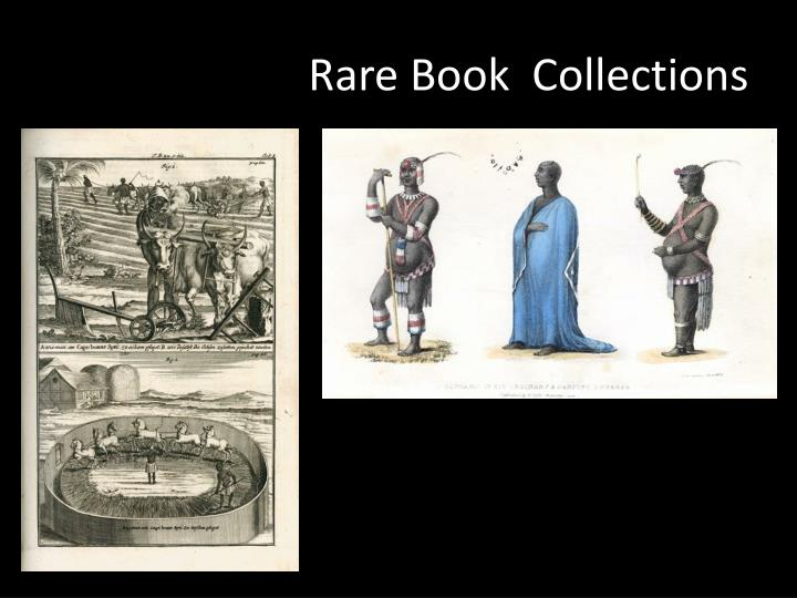 Rare Book  Collections