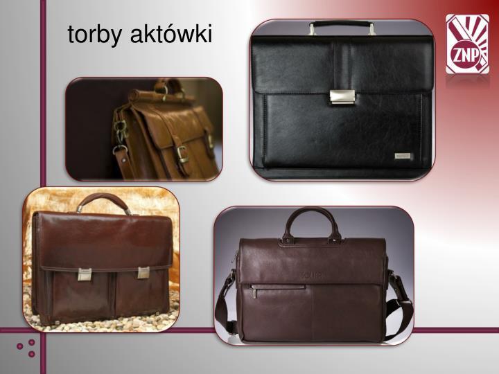 torby aktówki