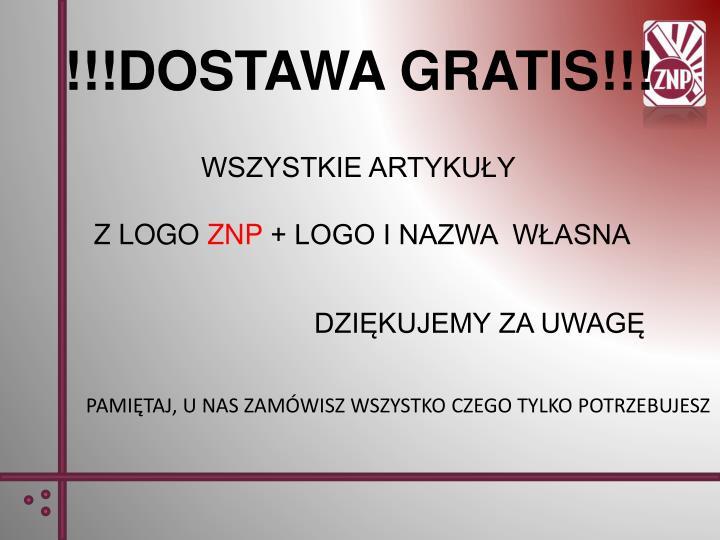 !!!DOSTAWA GRATIS!!!