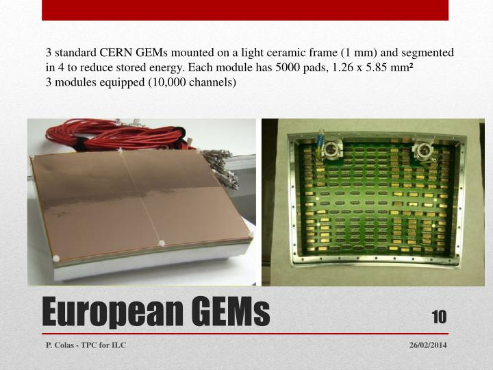 3 standard CERN