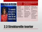 2 3 strukturelle teorier