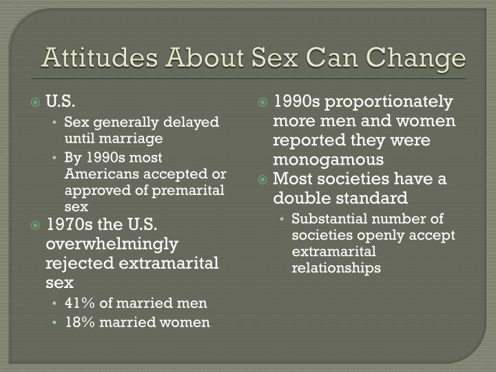 Attitudes About Sex Can Change