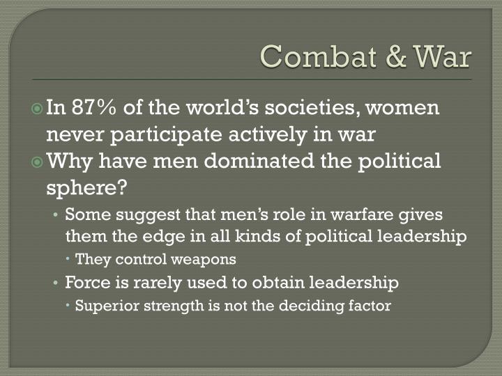 Combat & War