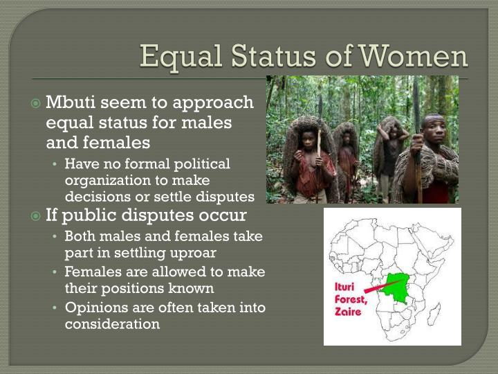 Equal Status of Women