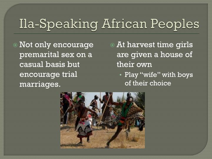 Ila-Speaking African Peoples