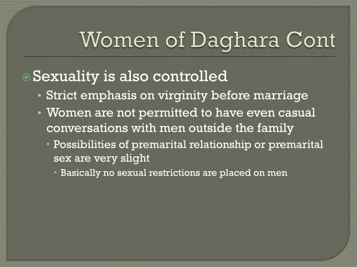 Women of Daghara Cont