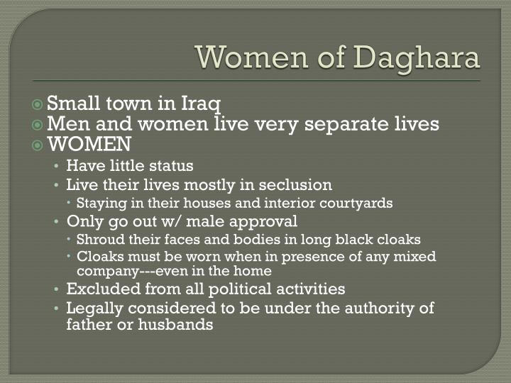 Women of Daghara