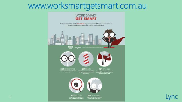 www.worksmartgetsmart.com.au