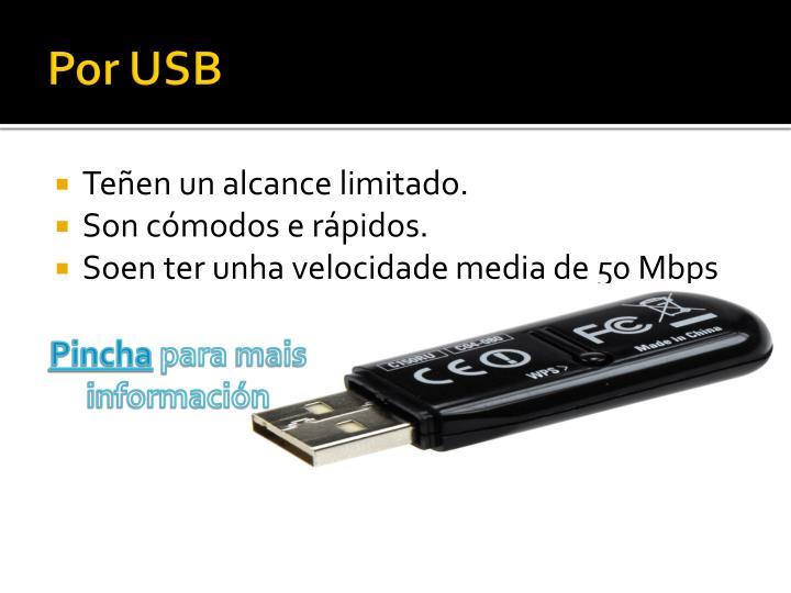 Por USB