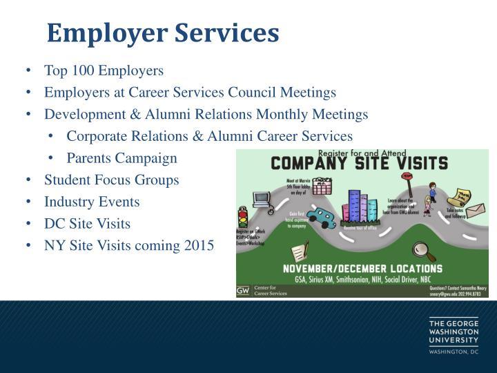 Employer Services