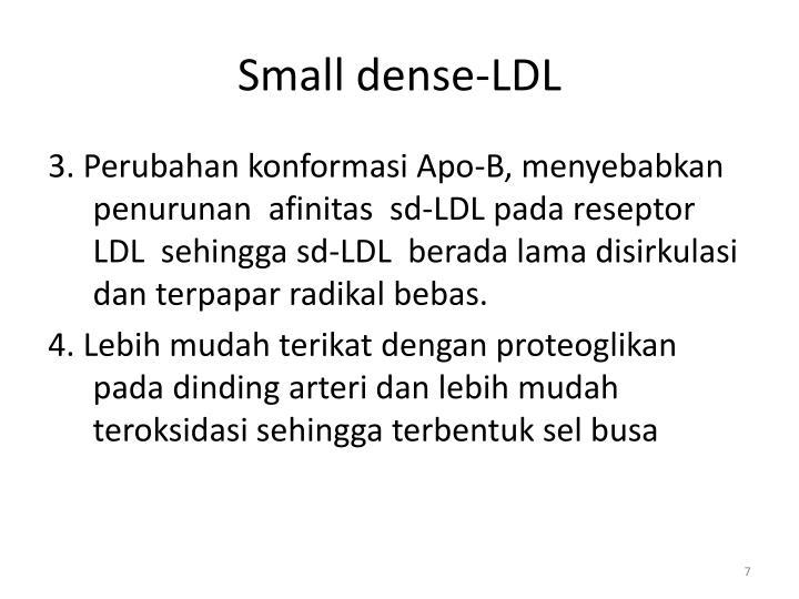 Small dense-LDL