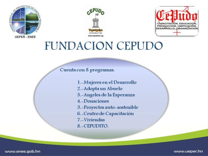 FUNDACION CEPUDO