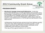 2012 community grant areas3