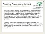 creating community impact1